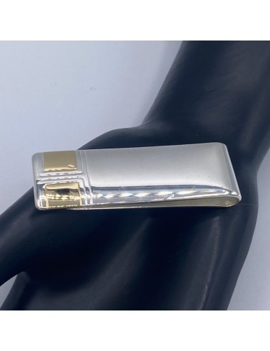Fermasoldi in argento e oro