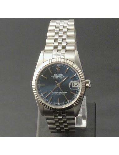 Rolex Datejust 31 mm quadrante blu