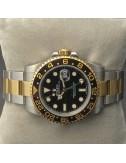 Rolex GMT Master 2 acciaio e oro ghiera ceramica